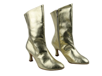 PP205A Ankle Boot Gold Leather (6 Weeks)