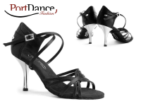 PortDance Fashion PD410 Black Satin