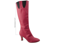 PP205 Boot Red Light Leather with Elastic (6 Weeks)