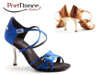 PortDance Fashion PD400 Blue Satin