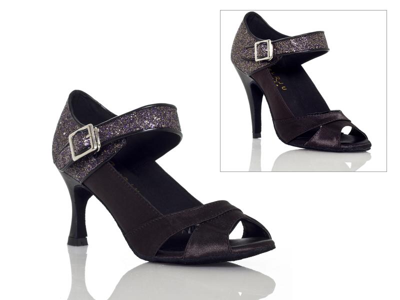 Burju Shoes Black Pearl Black Stiletto