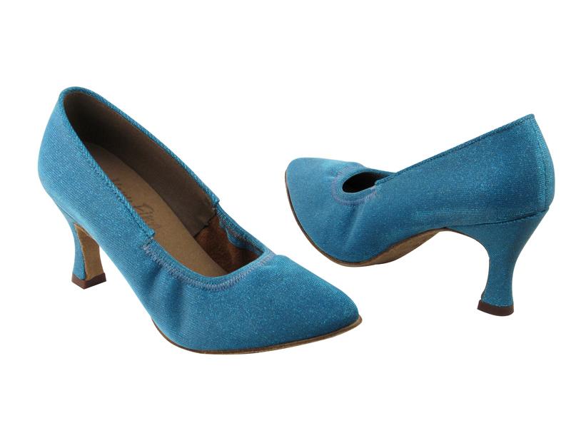 S9107 Glitter Blue Satin