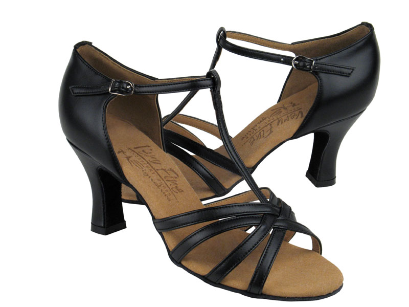 S9235 Black Leather